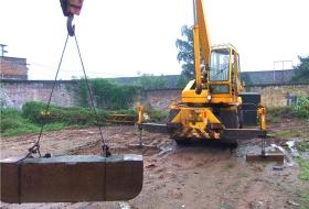 培训设备8吨吊车