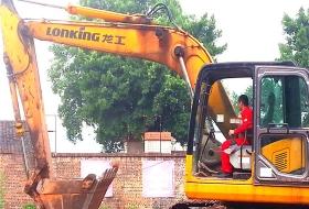 培训设备龙工挖掘机200